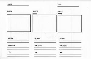 storyboarding creativepractices200 With film storyboard template word