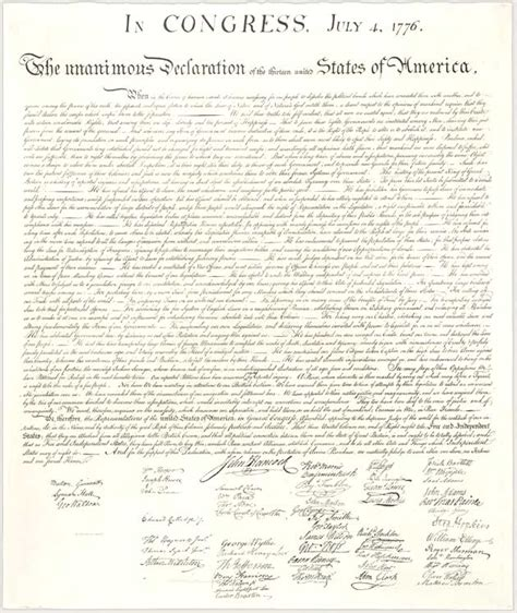 handwriting   declaration  independence