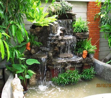 น้ำตกจำลองสำเร็จรูปสูง 1.9 เมตร แบบที่ 4   จัดสวน