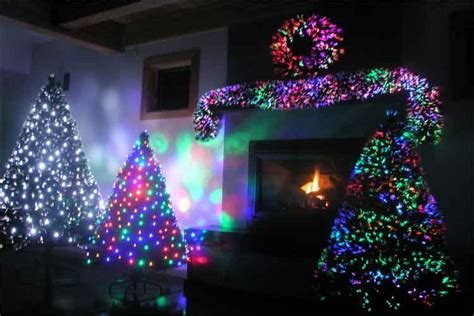 christmas trees fibre optic sales pre lit fiber optic