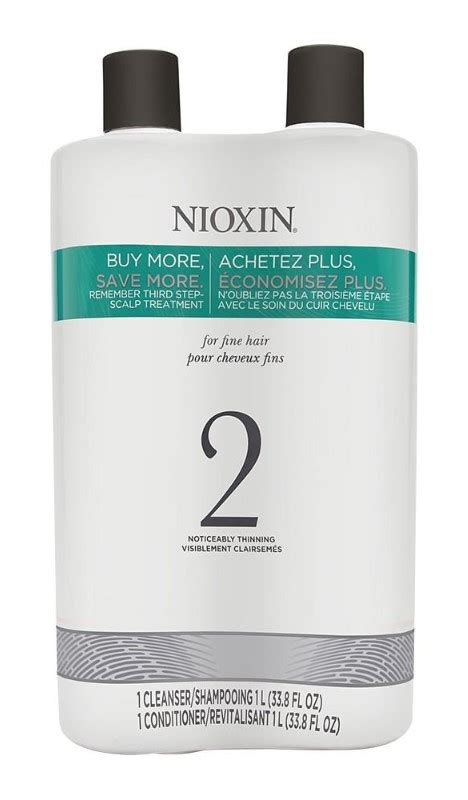 nioxin hair thickening shampoo and consitioner | Hold the