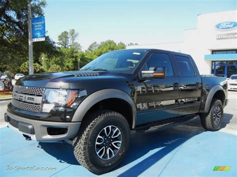 2012 Ford F150 SVT Raptor SuperCrew 4x4 in Tuxedo Black