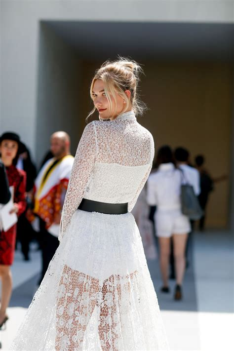 Karlie Kloss Attending The Christian Dior Haute Couture