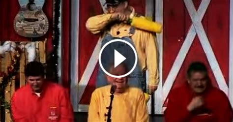 Laughing Comedy Barn - comedian invited 3 onstage what the in the middle