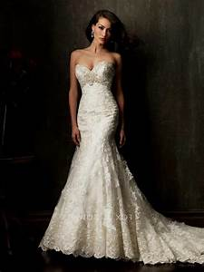 Trumpet wedding dresses with straps naf dresses for Lace trumpet wedding dress