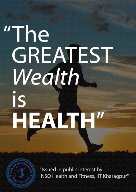Health and Fitness (NSO), IIT Kharagpur: Posters: Series V