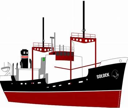 Ship Clipart Cartoon Barge Clip Cargo Vector