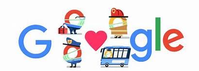 Coronavirus Thank Helpers Google Doodle Covid Doodles