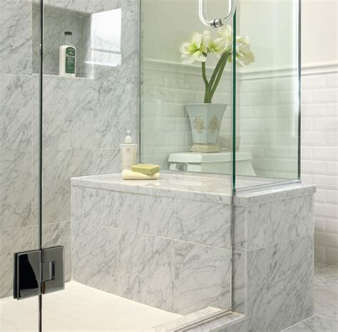 White Marble Bathroom Ideas White Marble Bathroom Traditional Bathroom Other Metro By The Sky Is The Limit Design