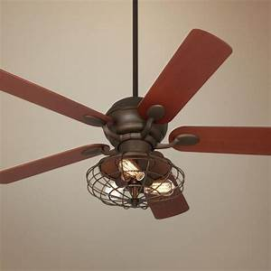 Casa optima industrial oil rubbed bronze ceiling fan