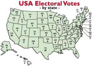 Electoral College Votes Map