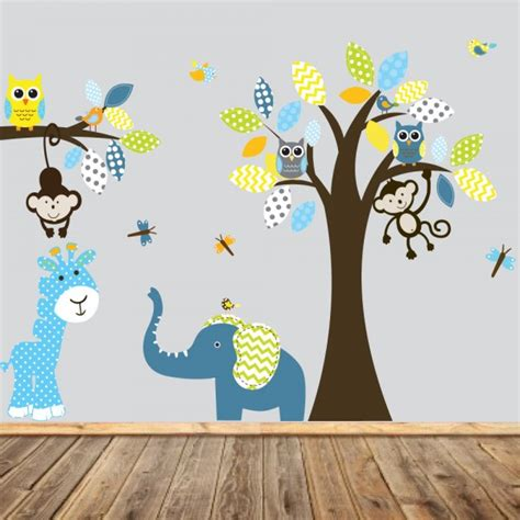 chambre bebe jungle stickers chambre bebe garcon jungle chaios com