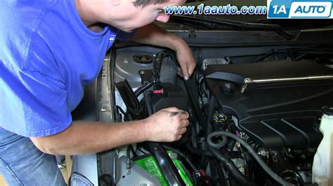 install replace engine serpentine belt