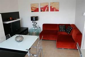 Solution personnalisée pour petit espace salon/salle à manger Binoche Design