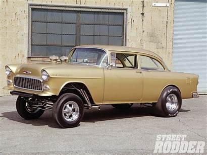 Gasser Chevy 1955 55 Cars Drag Rod