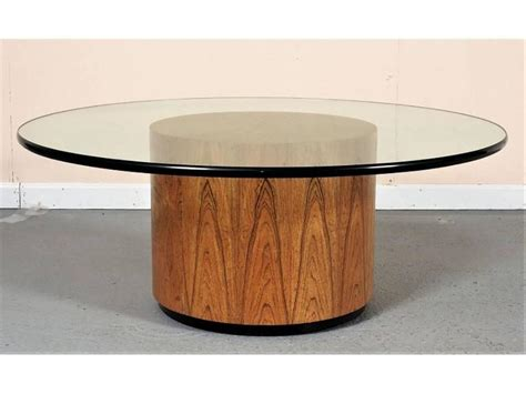 Glass Top Cocktail Table By Harvey Probber At 1stdibs