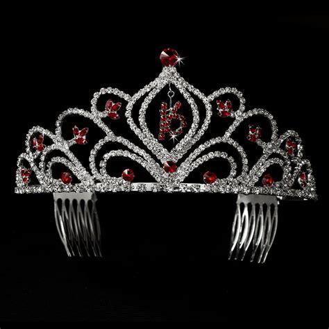 large rhinestone silver covered sweet sweet 16 birthday tiara sparkling rhinestone covered