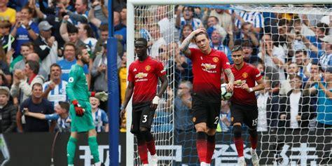 Brighton vs Manchester United, derrota del equipo de ...