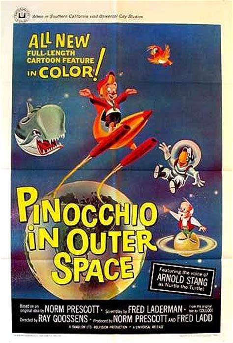 pinocchio  outer space  filmaffinity