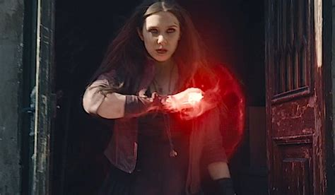 massive power  scarlet witch   avengers