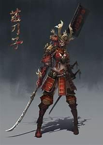 Anime Girl Samurai Armor   www.pixshark.com - Images ...