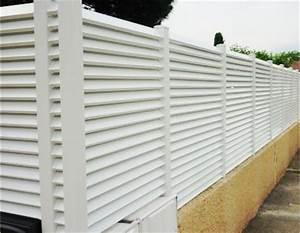 Cloture En Pvc : pin cloture pvc on pinterest ~ Premium-room.com Idées de Décoration