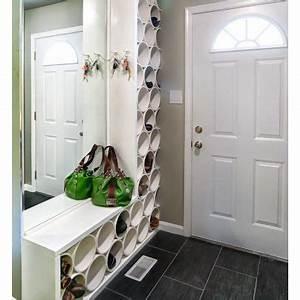 Idée Rangement Chaussures A Faire Soi Meme : 10 rangements pour les chaussures faire soi m me ~ Dallasstarsshop.com Idées de Décoration