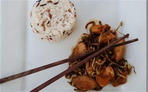 cuisiner des pousses de soja recette poulet et pousses de soja 750g
