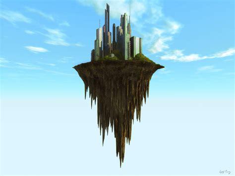 floating island  dudquitter  deviantart