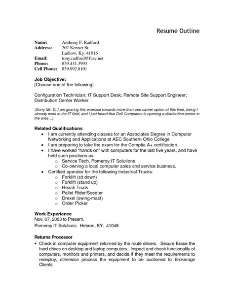 good opening for cover letter resume outline resume cv example template