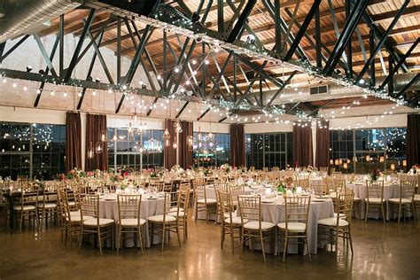picture perfect industrial style north texas wedding venues