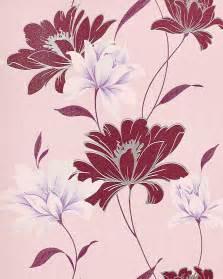 Papier Peint Floral by Papier Peint Design Motif Floral Fleurs Edem 168 34 Rouge