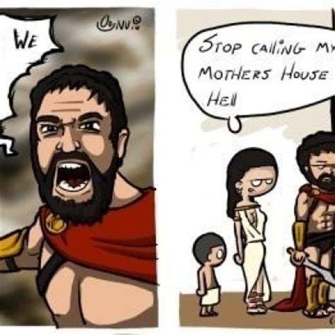 Leonidas Meme - moment you realize you are the sexy single in your area comic by cyanide and happiness