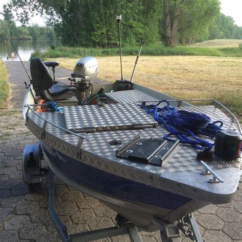 Aluminium Boot Carp by Aluminiumboot Marine 15t Aluboot Angelboot Boot Top In