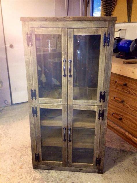 rusticfarmhouse style wineliquor cabinet