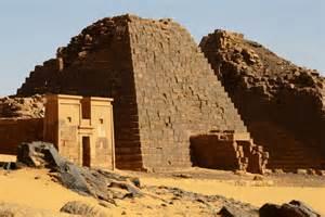 Pyramids in Sudan Africa