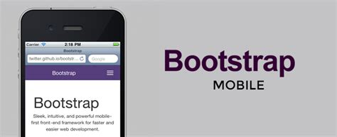 bootstrap mobile bootstrap mobile