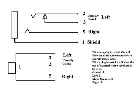 Trs Female Jack Symbol Kicad Electrical Engineering