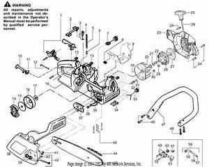 Poulan 1900 Le Gas Saw  Patriot 1900 Le Parts Diagram For
