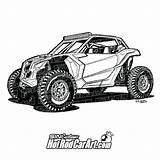 Clip Maverick X3 Drawings Canam Truck Coloring Ford Rod Automotive Side Trucks Utv Cartoon Drivers Hotrodcarart Rzr Rods Polaris Drawing sketch template