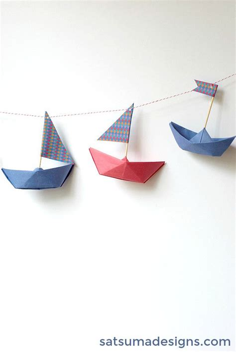 Origami Boat Garland by 318 Best Garlands And Bunting Images On