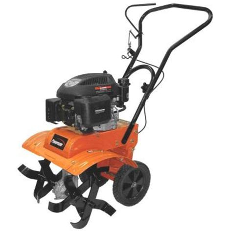 Rototiller Home Depot by Powermate 11 In 139 Cc 4 Cycle Front Tine Gas Tiller