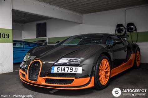 Tremendous speed developed modernized veyron 16.4 super sport. Bugatti Bugatti Veyron 16.4 Super Sport World Record ...