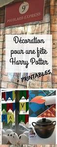 Deco Harry Potter Anniversaire : deco fete anniversaire harry potter harry potter anniversaire harry anniversaire harry ~ Melissatoandfro.com Idées de Décoration