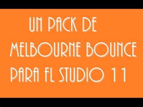 fl studio 11 packs de télécharger