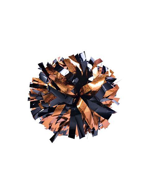 Poms 6 Holographic Orange Metallic Black