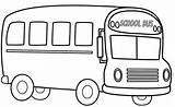 Coloring Bus Colouring Clipart Sheets Preschool Printable Buses Cartoon Windows Typical Watermelon Elegant Kostenlos Station sketch template