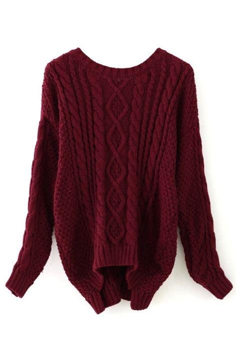 wine sweater 25 best ideas about maroon sweater on winter