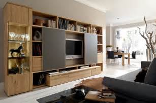 Wood Wall Units Entertainment Center