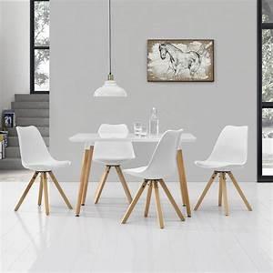 Esstisch Mit 4 Stühlen : esstisch mit 4 st hlen wei gepolstert real ~ Frokenaadalensverden.com Haus und Dekorationen